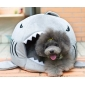 Wholesale Shark kennel Dog House Puppy Bed Pets Cat Warm Nest Teddy House - Size Small